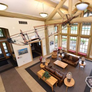 EAA Air Academy Lodge Interior | Ray Foundation, Inc.