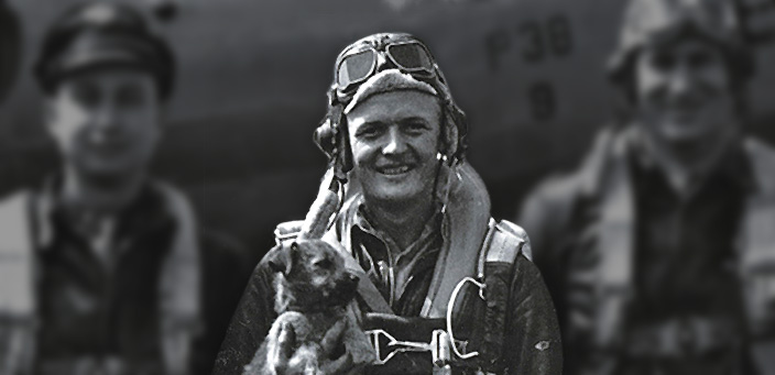 James C. Ray during WWII | Ray Foundation, Inc.