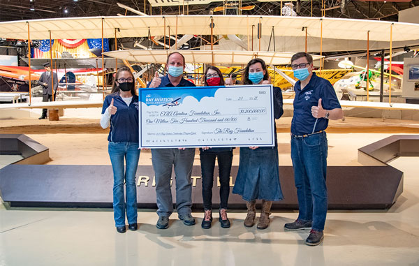 Thank You from EAA | Ray Foundation