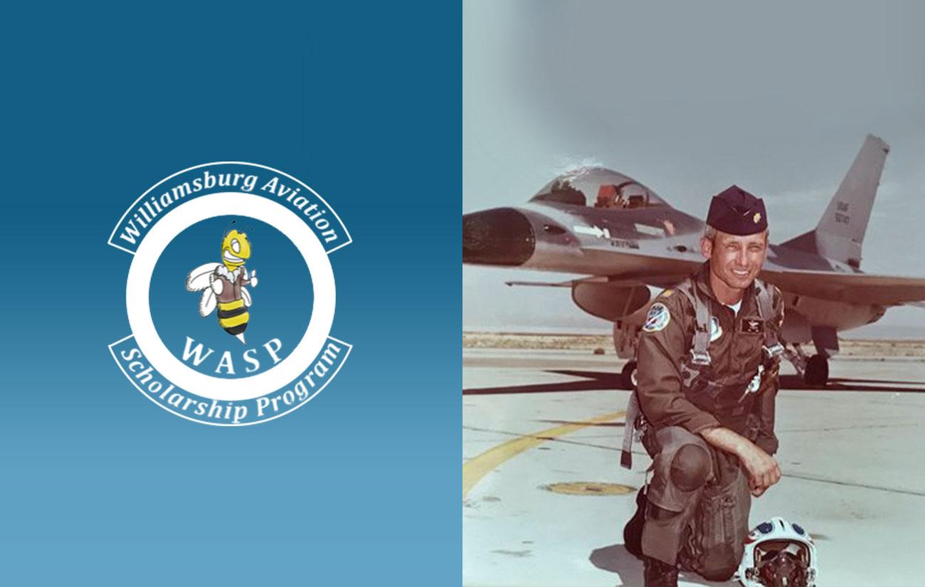 Tuck McAtee, Williamsburg Aviation Scholarship Program (WASP) Founder | Ray Foundation, Inc.